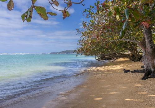 Hanama'ulu Beach