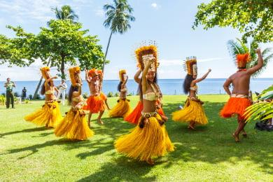 Polynesian Cultural Center Hula Dancers