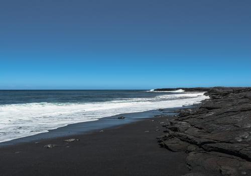Kaimu Black Sand Beach