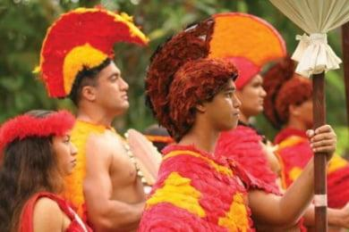 Polynesian Cultural Center Male Warriors