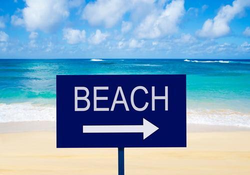 Entrances to the Beach