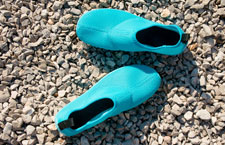 Buy this when you get there - Water Shoes