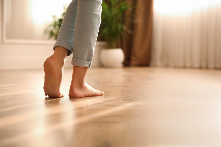 Heated Floors & It's Healthy To Be Barefoot