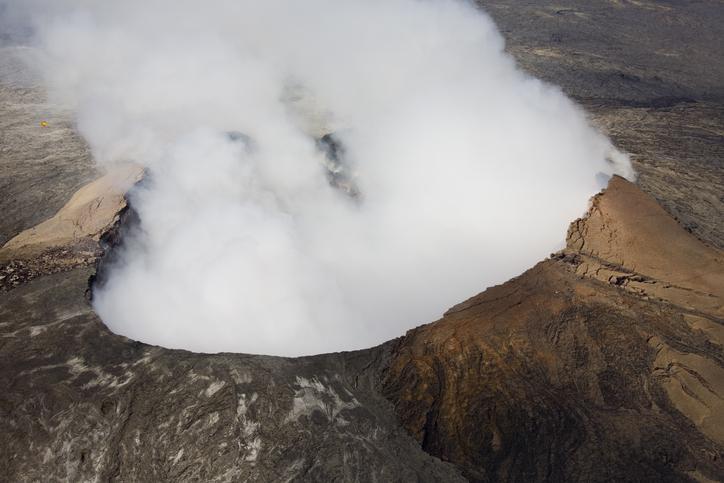 Volcano --Inside Volcanoes National Park