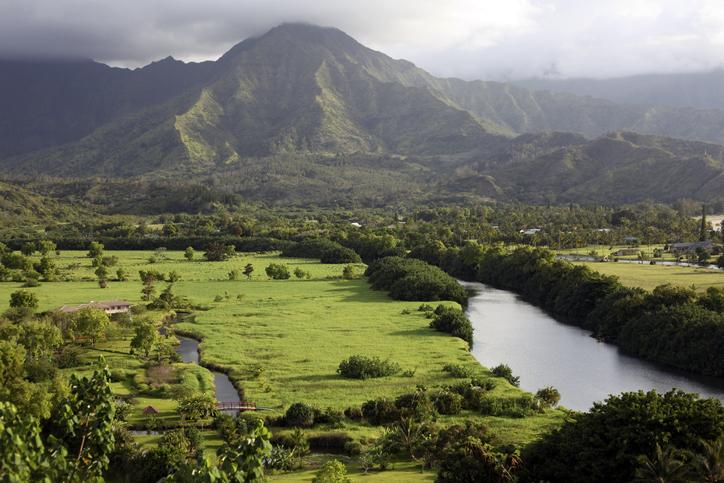 Hanalei Valley and Bay