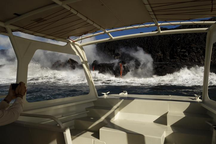 Kilauea By Boat