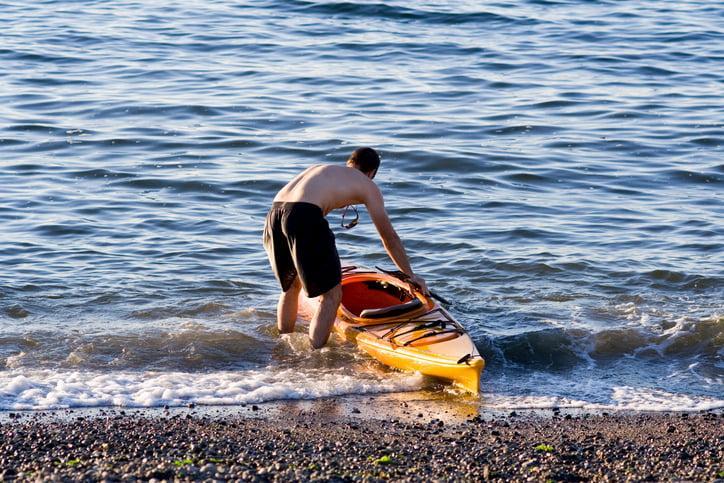 experienced kayaker