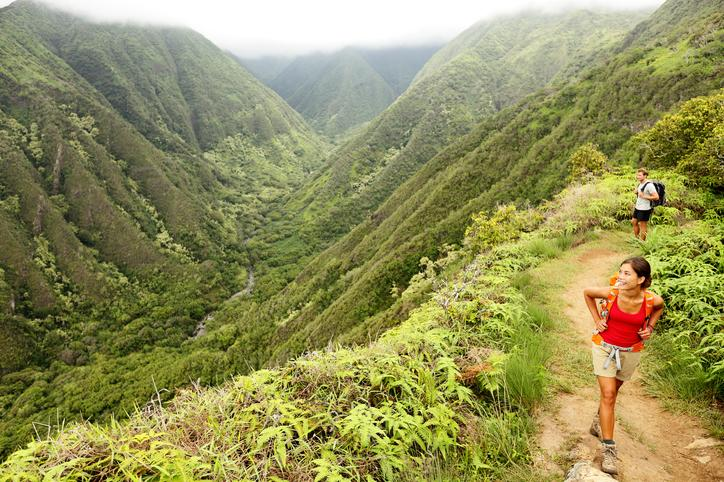 planning a trip to Hawaii hiking trails