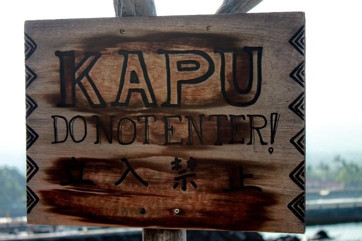 Hawaiian Kapu