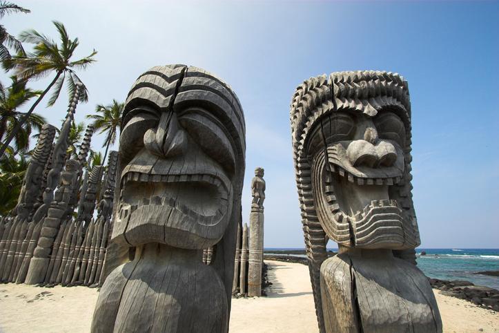 Kahuna Statue