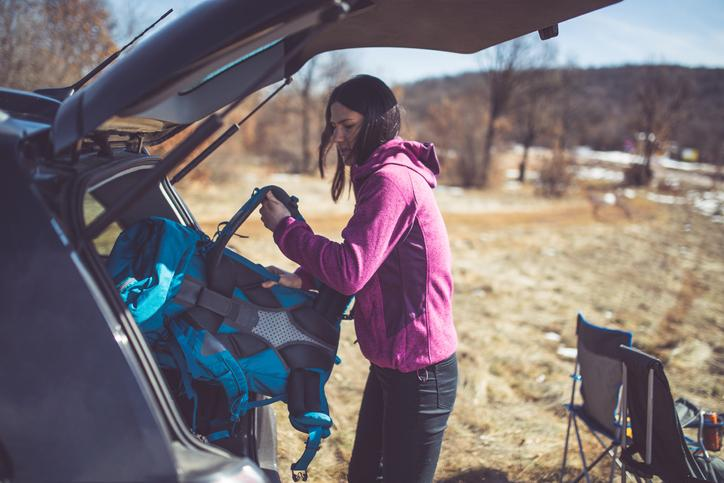 car rent and hike