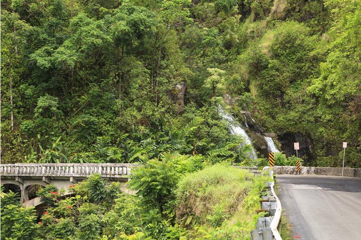 Waikani '3 bears' Falls