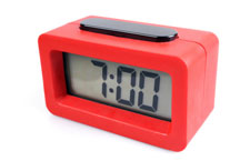 Packing for your home away from home - Alarm Clock
